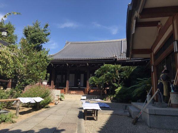 浄教寺の「大掃除のお手伝い」