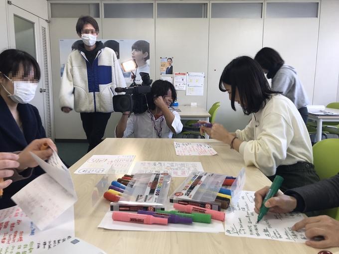奈良テレビ取材されました