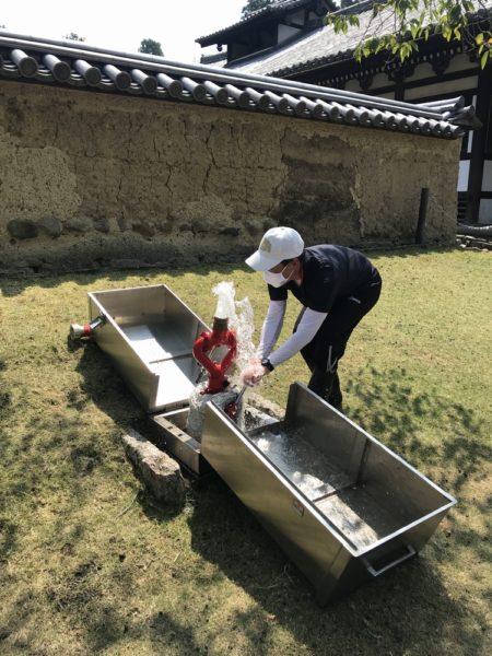 東大寺お掃除ボランティア