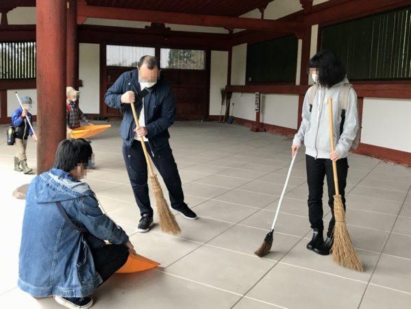 東大寺清掃ボランティア