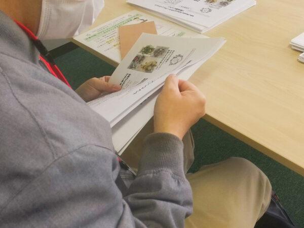 フラワーアレンジメント教室210427