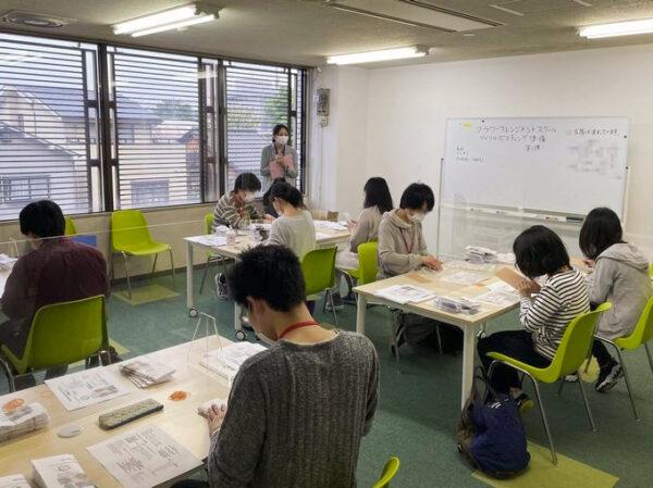 フラワーアレンジメント教室210520